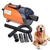 Ridgeyard Secador de Pelo para Perros y Gatos 2800W...