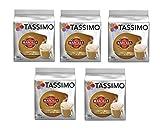 TASSIMO Marcilla Café con Leche - 5 paquetes de 16...