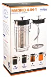 GROSCHE MADRID 4-in-1 Hot and Cold Coffee and Tea...