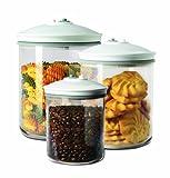 FoodSaver FSC003-I-065 - Set de 3 tarros de envasado al...