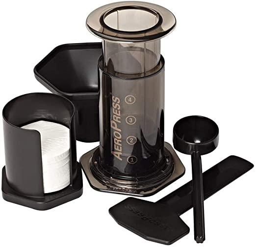 Cafetera de embolo o francesa Aeropress