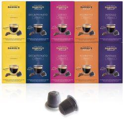 Cápsulas compatibles con Nespresso Daniels Blend