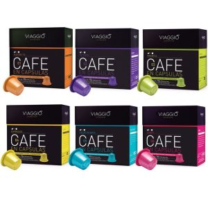 Cápsulas compatibles con Nespresso Viaggio Espresso