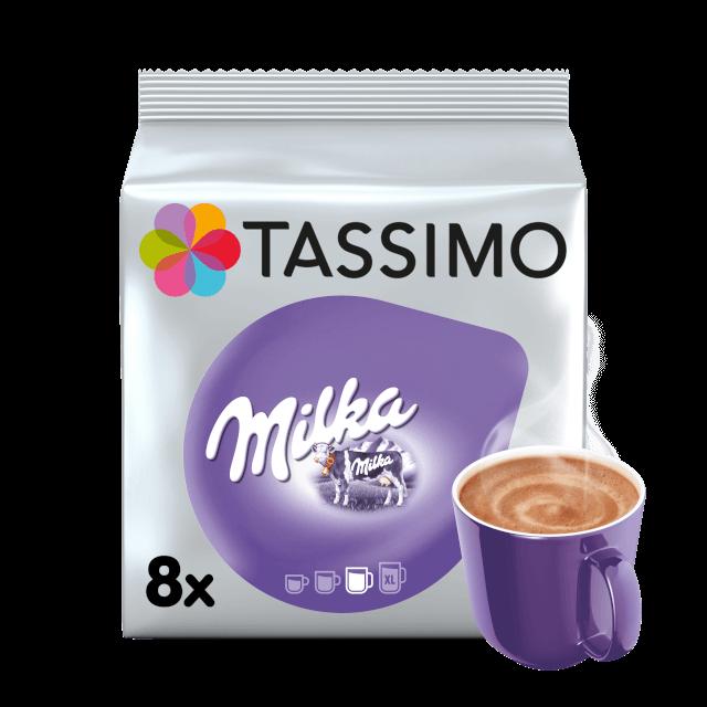 Cápsulas compatibles con cafetera Tassimo Milka Chocolate