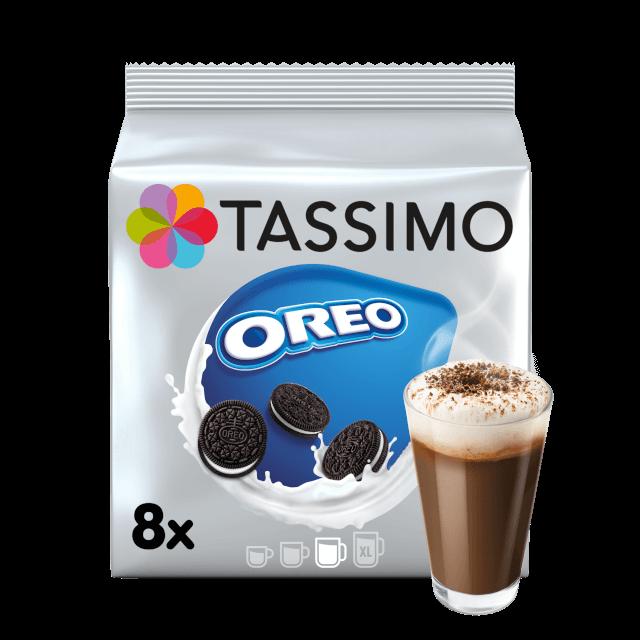 Cápsulas compatibles con cafeteras Tassimo Oreo