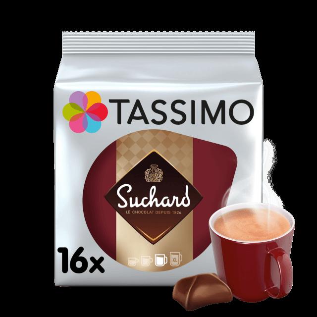 Cápsulas compatibles con cafeteras Tassimo Suchard