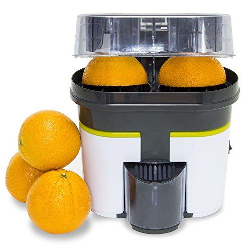 Cecotec Cecojuicer Zitrus - Turbo-exprimidor de doble cabezal que también corta la fruta