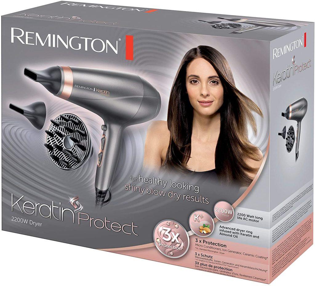 Remington Keratin Protect Mejores secadores de pelo con difusor