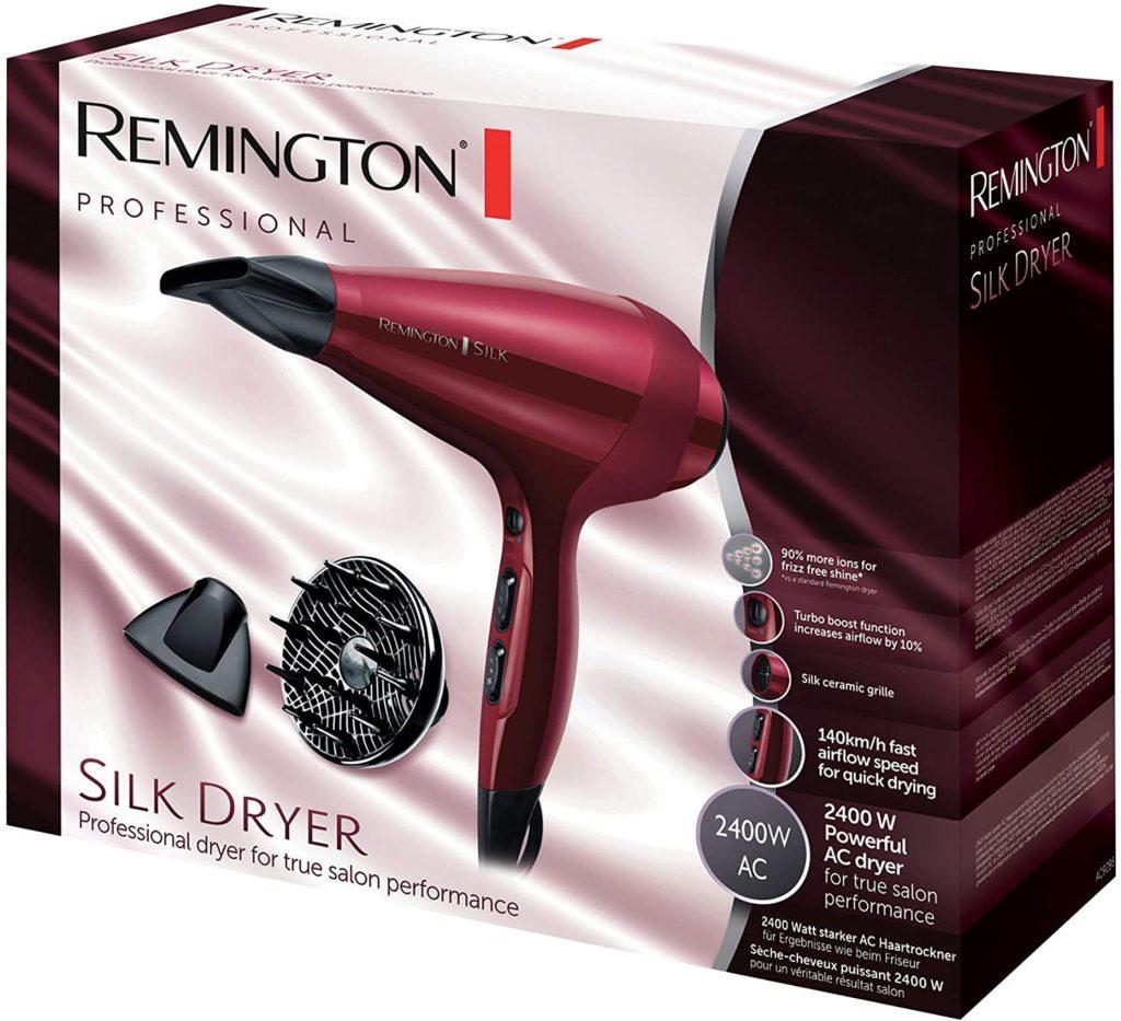 Mejores Secadores de Pelo Silenciosos - Remington AC9096 Silk