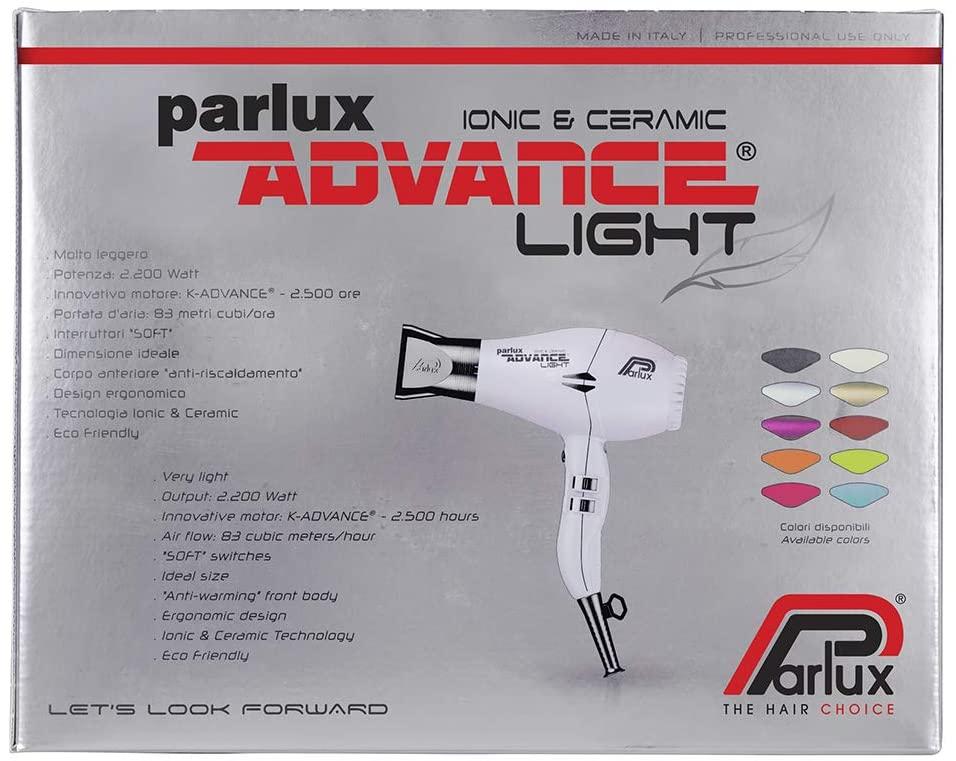 Mejores Secadores de Pelo Silenciosos - Parlux Advance Light
