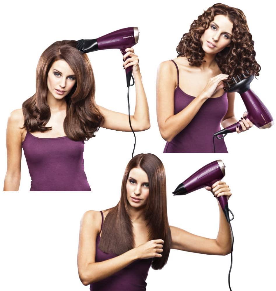 mejores secadores de pelo silenciosos - Remington Your Style D5219