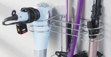 soportes para secador de pelo