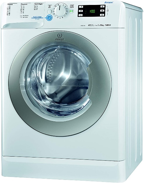 mejore lavadoras indesit - XWE 101484X WSS EU carga frontal 10 Kg